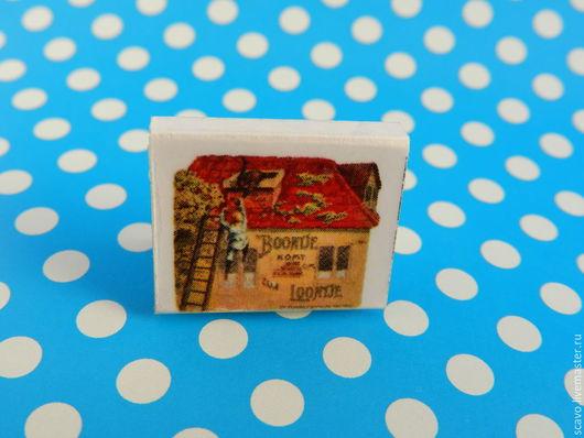 Кукольный дом ручной работы. Ярмарка Мастеров - ручная работа. Купить Винтажный мини-комикс. Handmade. Разноцветный, винтаж