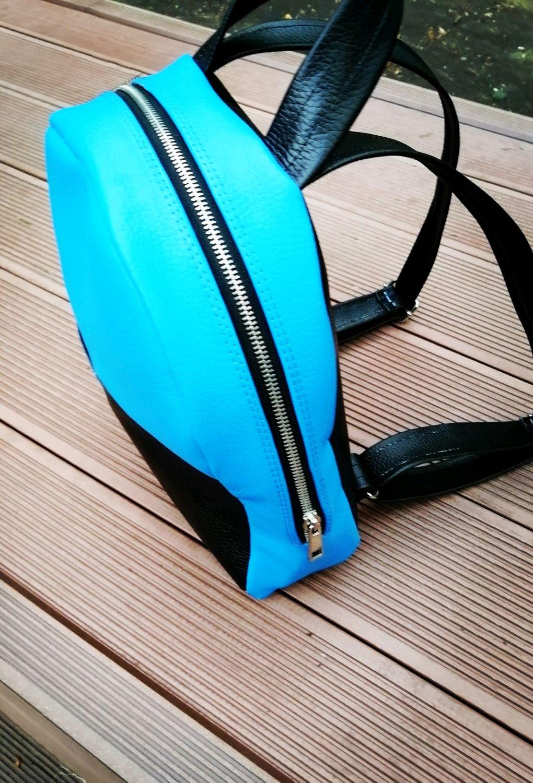 Рюкзак из натуральной кожи ручной работы, Рюкзаки, Липецк, Фото №1