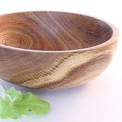 Посуда ручной работы. Ярмарка Мастеров - ручная работа чаша из дуба. Handmade.