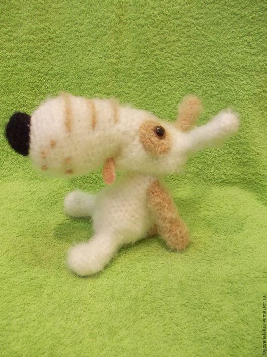 """Игрушки животные, ручной работы. Ярмарка Мастеров - ручная работа. Купить """"Пёсик Лаки"""". Handmade. Собака, игрушка ручной работы"""