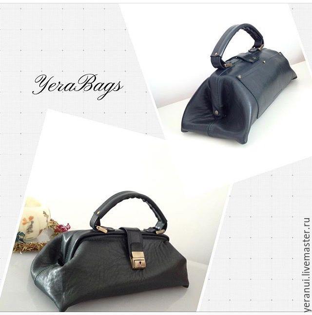 Handbags Handmade Livemaster Leather Bag The Old Lady Shapoklyak