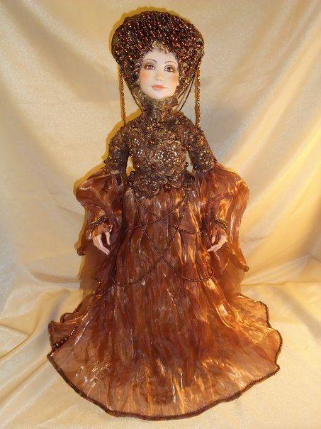 Коллекционные куклы ручной работы. Ярмарка Мастеров - ручная работа. Купить Горячий шоколад. Handmade. Кукла интерьерная, коллекционная кукла