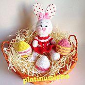 Куклы и игрушки ручной работы. Ярмарка Мастеров - ручная работа Пасхальный кролик Банни. Handmade.