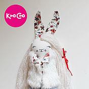 Мягкие игрушки ручной работы. Ярмарка Мастеров - ручная работа Зайка из Кюсю. Handmade.