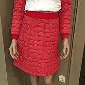 Одежда handmade. Livemaster - original item Sports quilted skirt. Handmade.