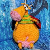 Куклы и игрушки ручной работы. Ярмарка Мастеров - ручная работа Божья коровушка Ку-Муууушка. Handmade.