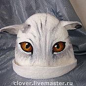"""Для дома и интерьера ручной работы. Ярмарка Мастеров - ручная работа Шапка для бани """"Кошка 2"""". Handmade."""