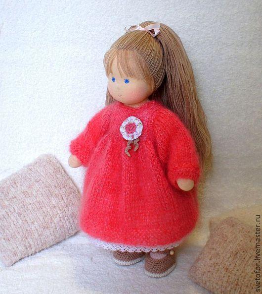 Вальдорфская игрушка ручной работы. Ярмарка Мастеров - ручная работа. Купить Куколка для Татьяны, 33 см. Handmade. Вальдорфская кукла