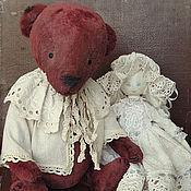 Куклы и игрушки ручной работы. Ярмарка Мастеров - ручная работа Тедди в винтажном стиле. Handmade.