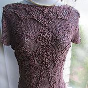 """Одежда ручной работы. Ярмарка Мастеров - ручная работа Ирландское кружево. Блуза """"Цветущий сад"""". Handmade."""
