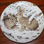 Винтаж handmade. Livemaster - original item Charming, original plates