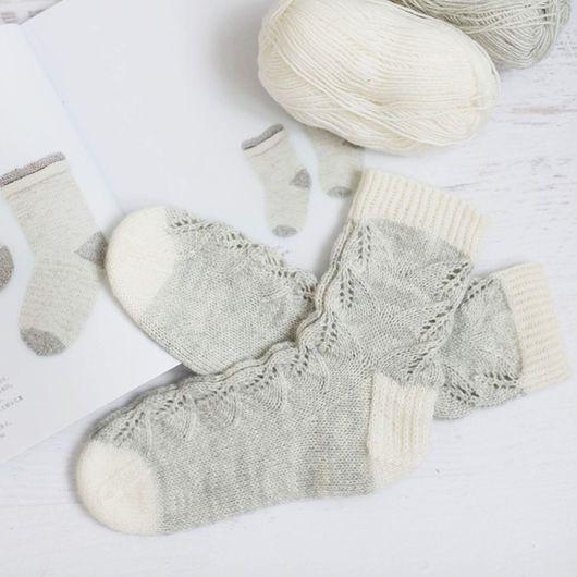 Носки, Чулки ручной работы. Ярмарка Мастеров - ручная работа. Купить Носки. Handmade. Вязаные носки, вязание спицами