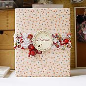 Канцелярские товары handmade. Livemaster - original item Personalized photo album for girls