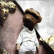 Куклы и игрушки handmade. Livemaster - original item Mr.  Ratt, water rat Teddy. Handmade.