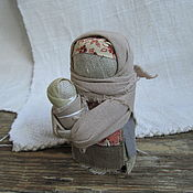 Куклы и игрушки ручной работы. Ярмарка Мастеров - ручная работа Текстильная кукла-амулет Подорожница. Handmade.