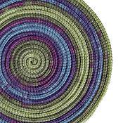 Аксессуары ручной работы. Ярмарка Мастеров - ручная работа Колье из шнуров Lasso Violet шарф бусы трансформер. Handmade.