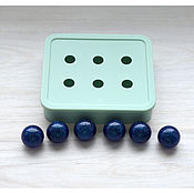 Материалы для творчества ручной работы. Ярмарка Мастеров - ручная работа Молд для 6 шариков, 16 мм... Handmade.
