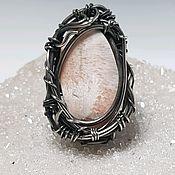 Украшения handmade. Livemaster - original item Ring with scolecite. Handmade.