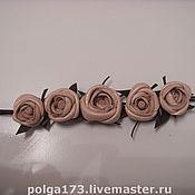 """Украшения ручной работы. Ярмарка Мастеров - ручная работа Браслет """"Нежные розы"""". Handmade."""