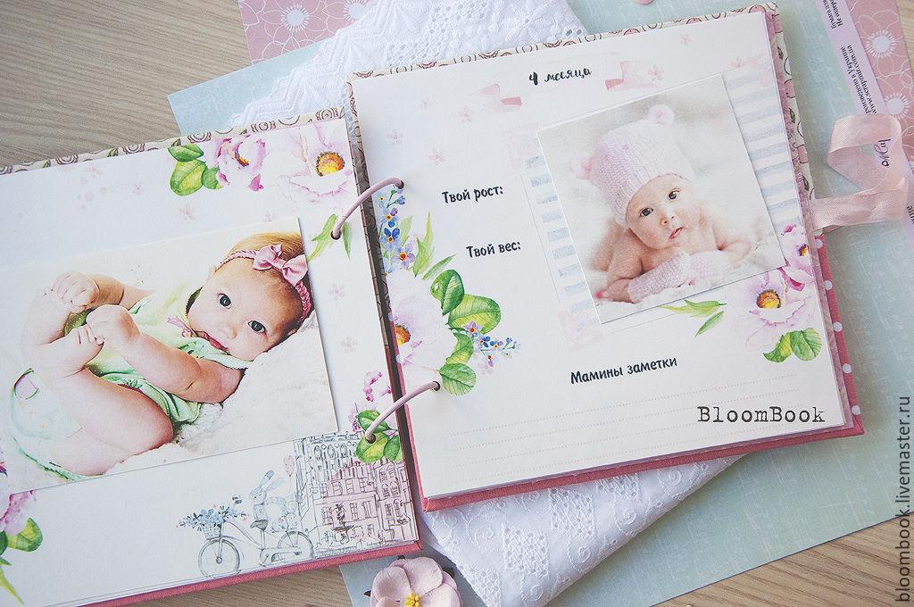 Фотоальбом для новорожденного первый год купить