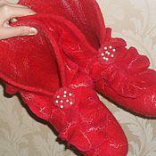 Обувь ручной работы. Ярмарка Мастеров - ручная работа Валенки для дома. Handmade.