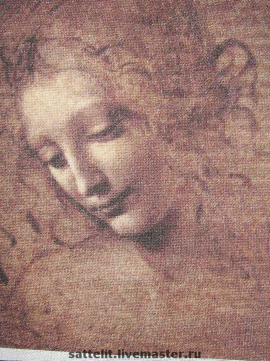 Люди, ручной работы. Ярмарка Мастеров - ручная работа. Купить Карандашный рисунок Леонардо да Винчи Девушка с распущенными волосами. Handmade.