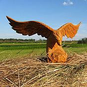 Для дома и интерьера ручной работы. Ярмарка Мастеров - ручная работа Орел из дерева. Handmade.