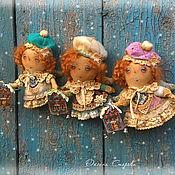 Куклы и игрушки ручной работы. Ярмарка Мастеров - ручная работа Свет в окошке (по мотивам). Handmade.
