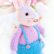 Куклы и игрушки ручной работы. Ярмарка Мастеров - ручная работа Пасхальный кролик. Вязаная игрушка. Кролик.. Handmade.