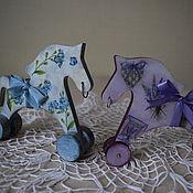 Куклы и игрушки ручной работы. Ярмарка Мастеров - ручная работа Лошадка  Лавандовая и Незабудка. Handmade.