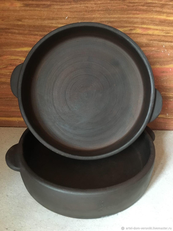"""Тарелки: Грузинская сковорода """"Кеци"""" для запекания и подачи, Посуда для запекания, Пенза,  Фото №1"""