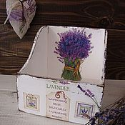 """Для дома и интерьера ручной работы. Ярмарка Мастеров - ручная работа короб прованский стиль"""" лавандовый запах"""". Handmade."""