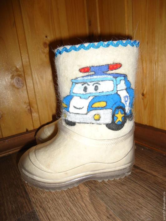 """Обувь ручной работы. Ярмарка Мастеров - ручная работа. Купить Валенки детские """"Полли"""". Handmade. Белый, Валенки детские"""