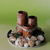Куклы и игрушки handmade. Livemaster - original item Mini fountain for Japanese mini garden. Handmade.