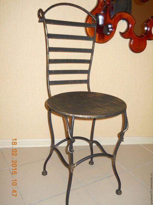 Мебель ручной работы. Ярмарка Мастеров - ручная работа. Купить стулья кованные. Handmade. Комбинированный, винтаж, металл