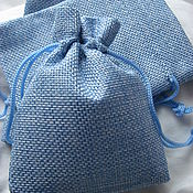 Материалы для творчества handmade. Livemaster - original item Jute bag for packing. Handmade.