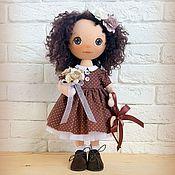 Куклы и игрушки ручной работы. Ярмарка Мастеров - ручная работа Шоколадный горошек. Handmade.