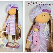 Куклы и игрушки ручной работы. Ярмарка Мастеров - ручная работа Лавандовая куколка с малышом. Handmade.