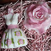 """Косметика ручной работы. Ярмарка Мастеров - ручная работа Набор мыла""""Нежность"""". Handmade."""