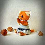 Куклы и игрушки ручной работы. Ярмарка Мастеров - ручная работа Лиска. Handmade.
