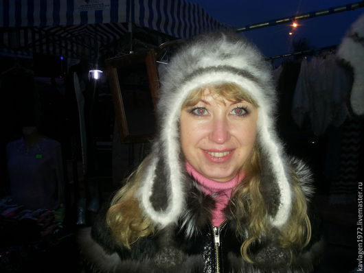 вязаная шапка ушанка  кроличий пух шапка ушанка вязаная ушанка теплая шапка теплая вязаная шапка красивая шапка шапка зимняя шапка зимняя ушанка