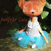 Куклы и игрушки ручной работы. Ярмарка Мастеров - ручная работа киса Лулу. Handmade.