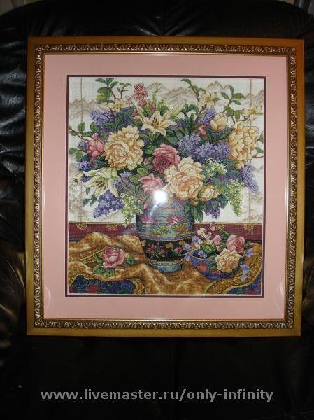 Картины цветов ручной работы. Ярмарка Мастеров - ручная работа. Купить Букет цветов. Handmade. Цветы, букет, подарок женщине