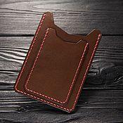 Канцелярские товары handmade. Livemaster - original item Leather case for auto documents. Leather cover for avtodokumentov.. Handmade.