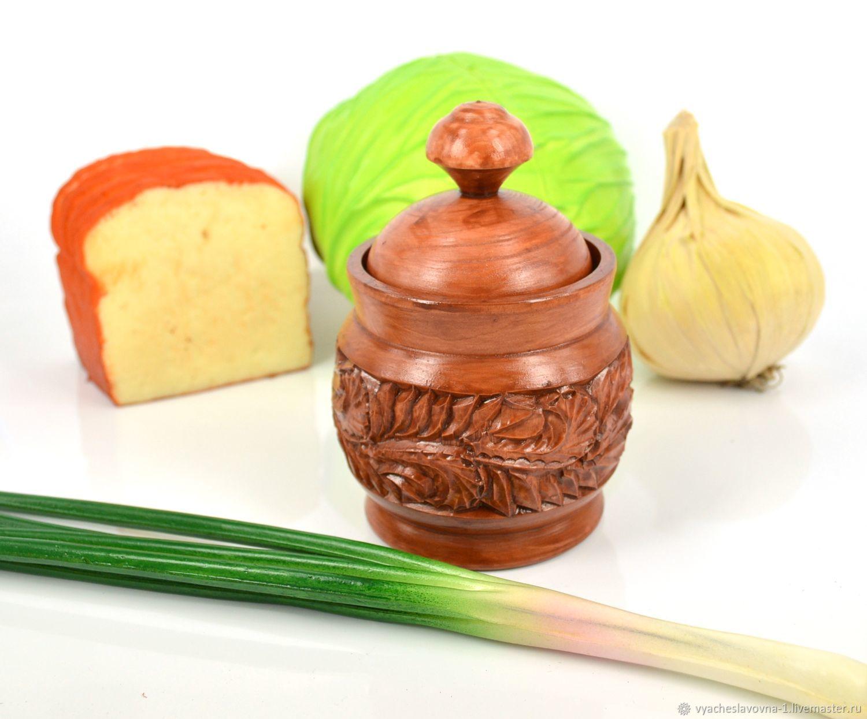 carved wooden salt shaker ' Tsarskaya', Salt and pepper shakers, Moscow,  Фото №1