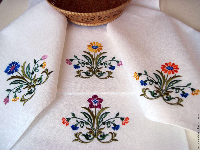 Вышивки для полотенца 44