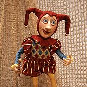 Куклы и игрушки ручной работы. Ярмарка Мастеров - ручная работа Кукла Шут. Handmade.