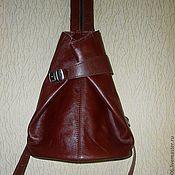 Сумки и аксессуары ручной работы. Ярмарка Мастеров - ручная работа Женская сумка рюкзак   из натуральной кожи 2. Handmade.