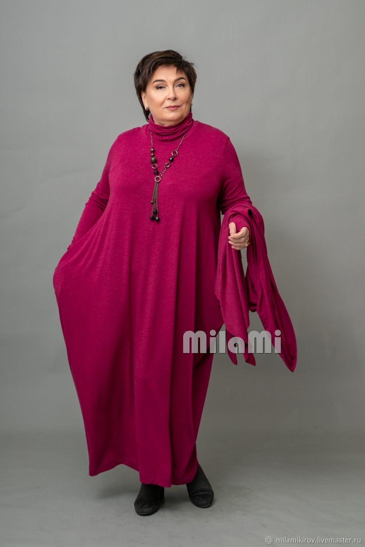 Art. .4789 Dress-rhombus Soft fuchsia, Dresses, Kirov,  Фото №1