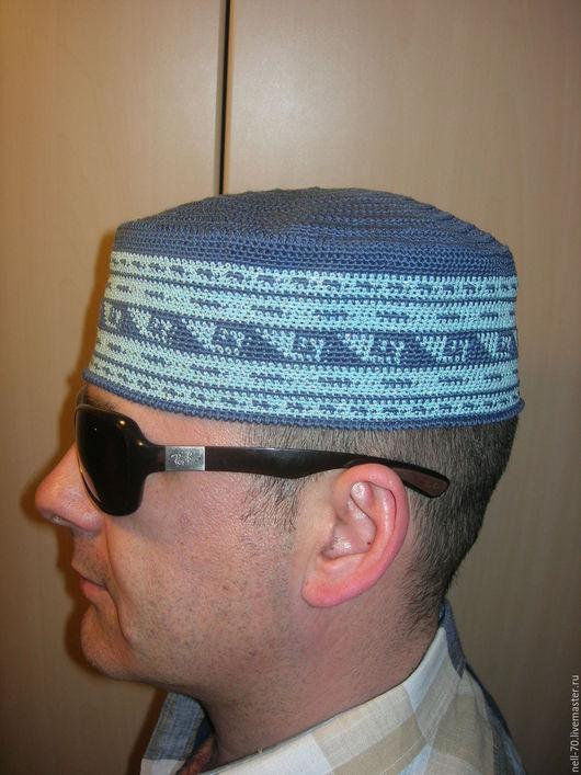"""Для мужчин, ручной работы. Ярмарка Мастеров - ручная работа. Купить Шапка  """"Султан 15"""". Handmade. Комбинированный, шапка на весну"""